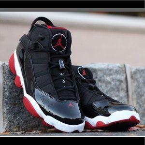 """Jordan 11 """"6 Rings"""" Bred Colorway"""